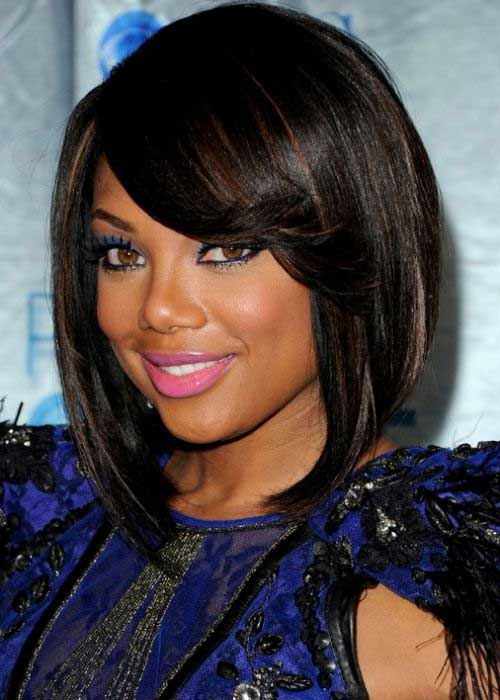 Sleek and chic is what this hairstyle can add to your look.