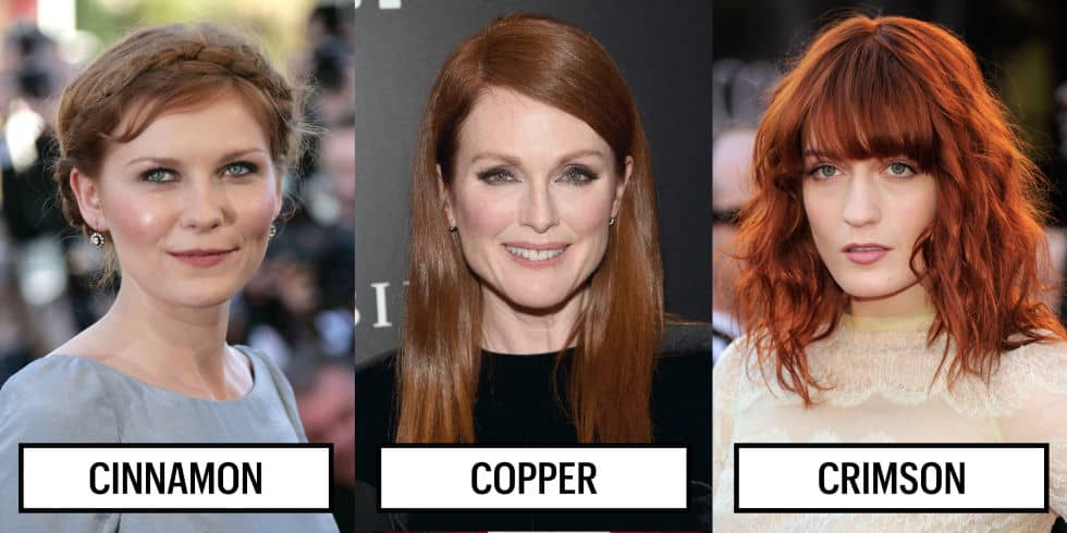 These surely are the hottest hair colors this season.