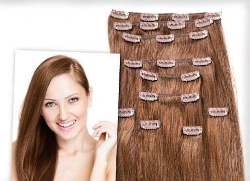 Donna Bella Clip In Hair Extensions